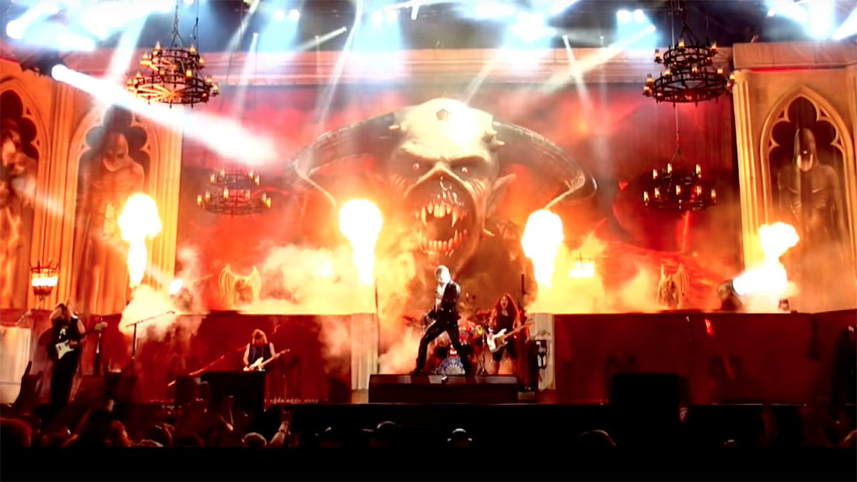 Iron Maiden celebrate Legacy Of The Beast tour with epic Run To The Hills video: https://t.co/u1qXrNHuIH https://t.co/XH2MFWK9Gq