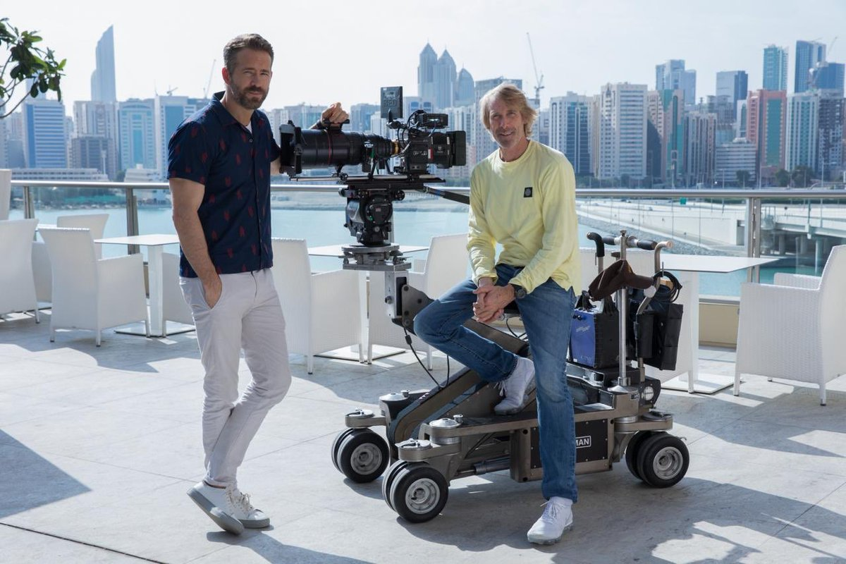"test Twitter Media - New action film ""#6Underground"" featuring the one and only @vancityreynolds is now filming with us #inAbuDhabi, directed by the legend @MichaelBay. It's great to see another #Hollywood production filmed at the Capital for Content Creators. https://t.co/NLCLCj6xGl"