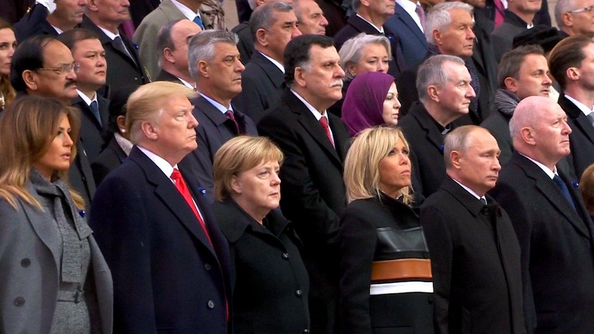 Trump Skips Paris Peace Forum During WWI Commemoration https://t.co/ACEodzyllt #Armistice100