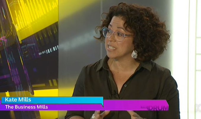 """To me the institute that came out worst was the government. I am amazed to hear the amount of influence they expect to have."" @katemills18 on ABC #auspol #TheDrum Photo"