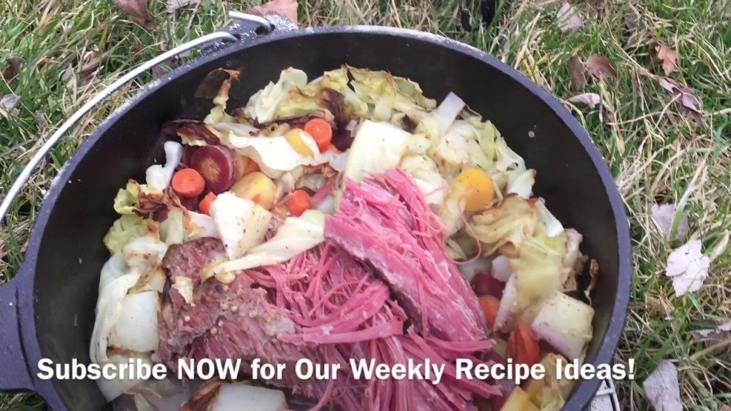 Corned Beef and Cabbage Dutch Oven – Saint Patrick's Day – Outdoor Cooking WithAl https://t.co/zUEkvUoP77 https://t.co/fhnx51KLzY
