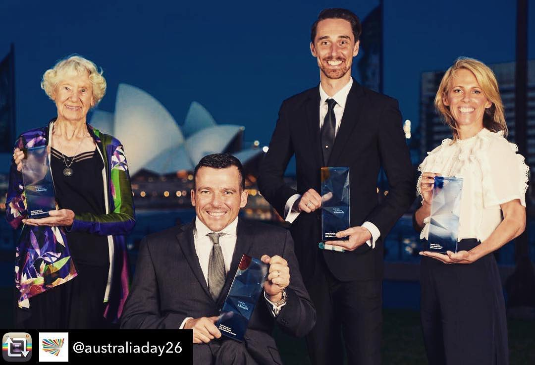 Congratulations to Paralympian and CROWNability Ambassador Kurt Fearnley on being named NSW Australian of the Year! Repost @kurtfearnley https://t.co/2L2huJFzOt