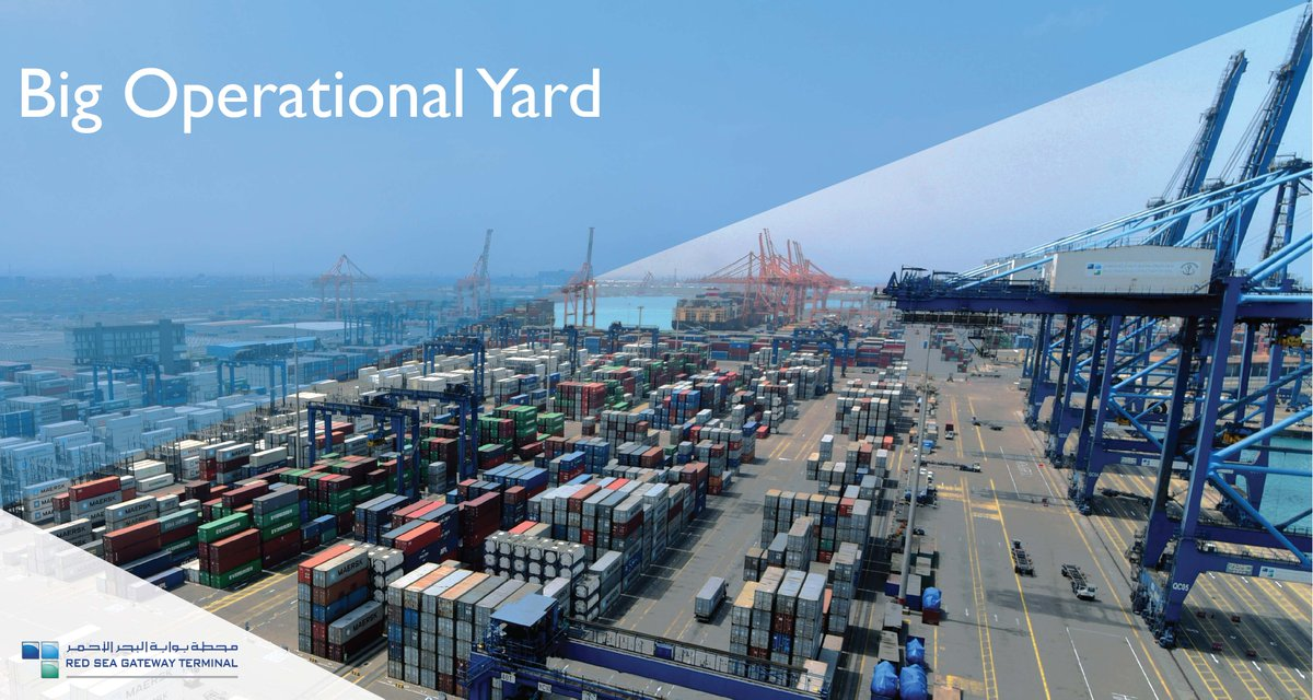 Red Sea Gateway Terminal On Twitter Rsgt Operations Has A Total Of 668 700 Square Meter Operational Yard Which Can Accommodate Up To 2 5m Containers Annually That Is A Size Of 93 Soccer