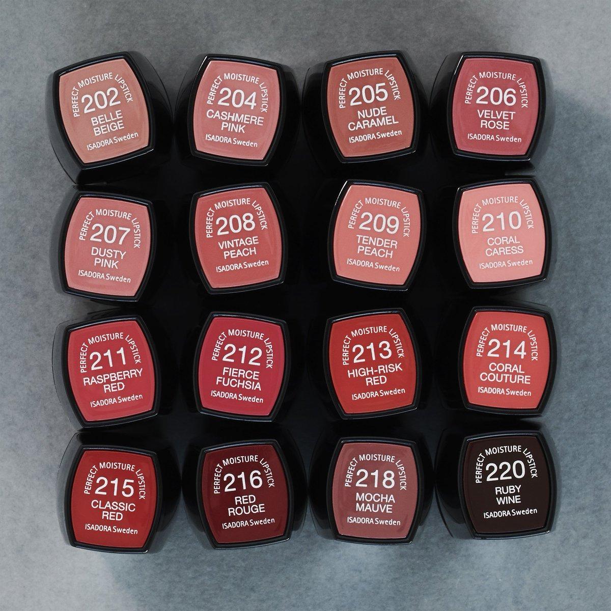 isadora perfect matt lipstick