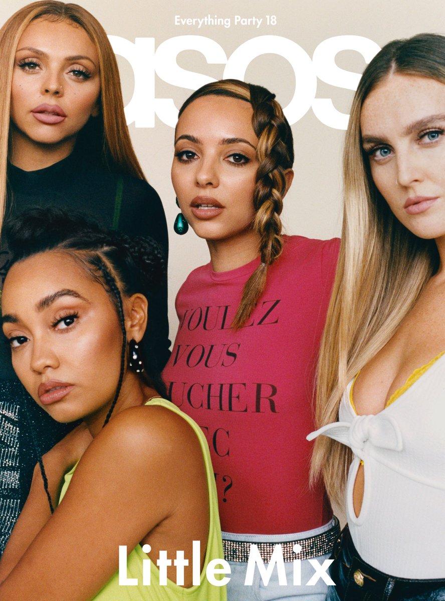 Capa da ASOS Magazine, Little Mix revela que foram instruídas a flertar com grandes figuras da música para ter sua música tocada nas rádios americanas