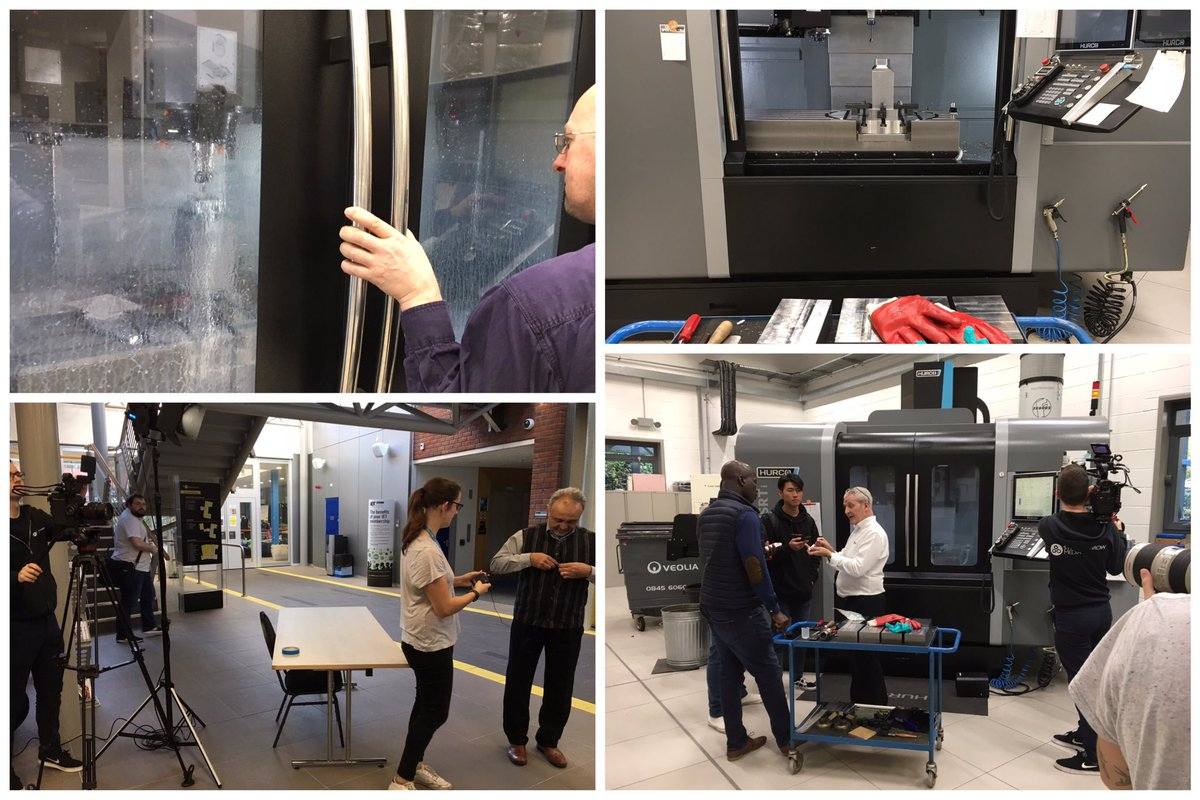 Preparations going well ahead of the Skilks &amp; Technology day on 20th Nov at @wlv_uni Telford Innovation Campus! Book your place:  https:// lnkd.in/dkqgJk3  &nbsp;   #livemachining #students #thefuture @TungaloyUK @adsk_mfg_uk @hurcousa<br>http://pic.twitter.com/ux29b9ET85