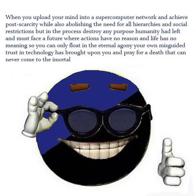 """Fully Automated Luxury Communism"""