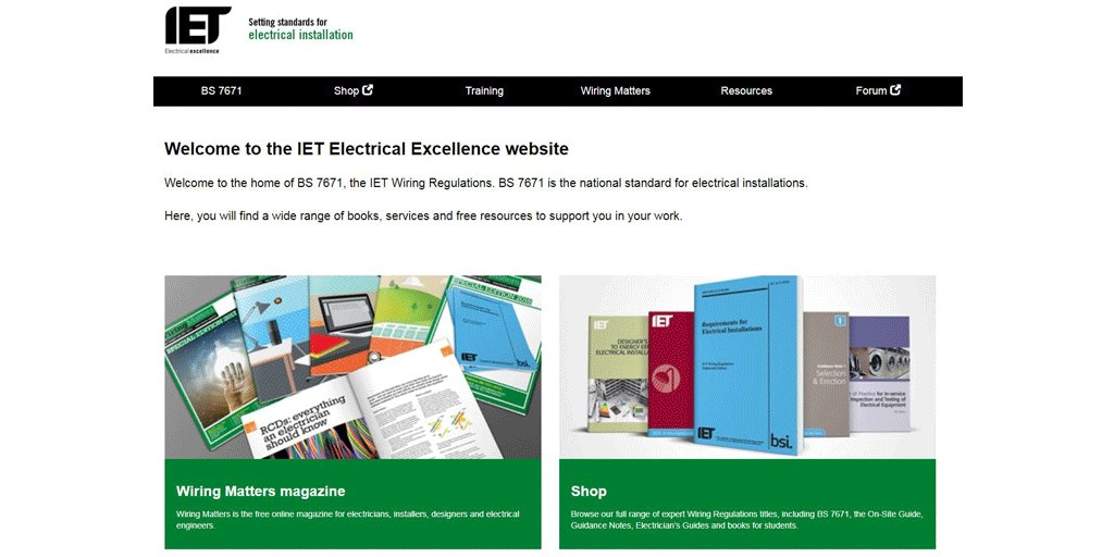 Superb Iet Wiring Matters On Twitter Have You Found The Iets Electrical Wiring 101 Ariotwise Assnl