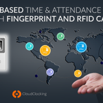 Image for the Tweet beginning: Cloud-based time and attendance solution