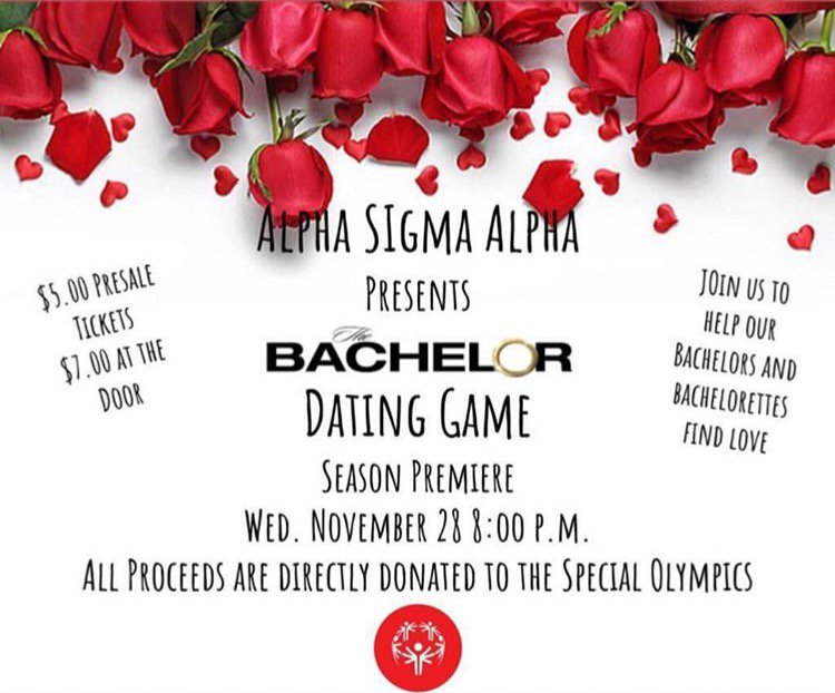 Alpha Sigma Alpha On Twitter Dating Game Tickets Are On Sale