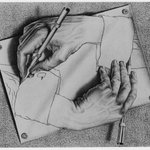 Image for the Tweet beginning: How M.C. Escher transfixed the