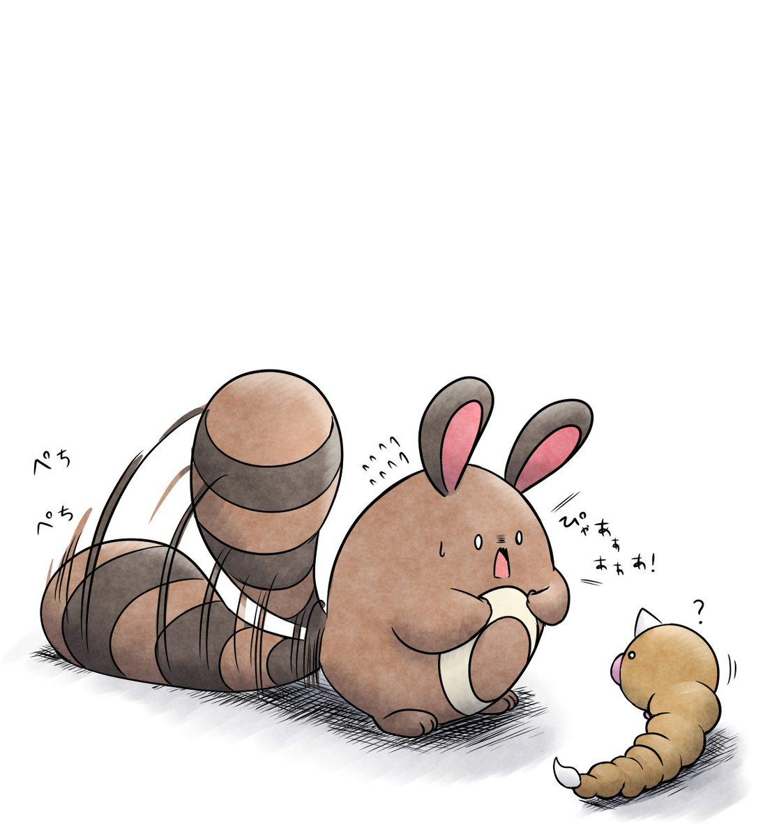 みはりやくは するどく ないたり しっぽで じめんを たたいたりして なかまに きけんを しらせる。