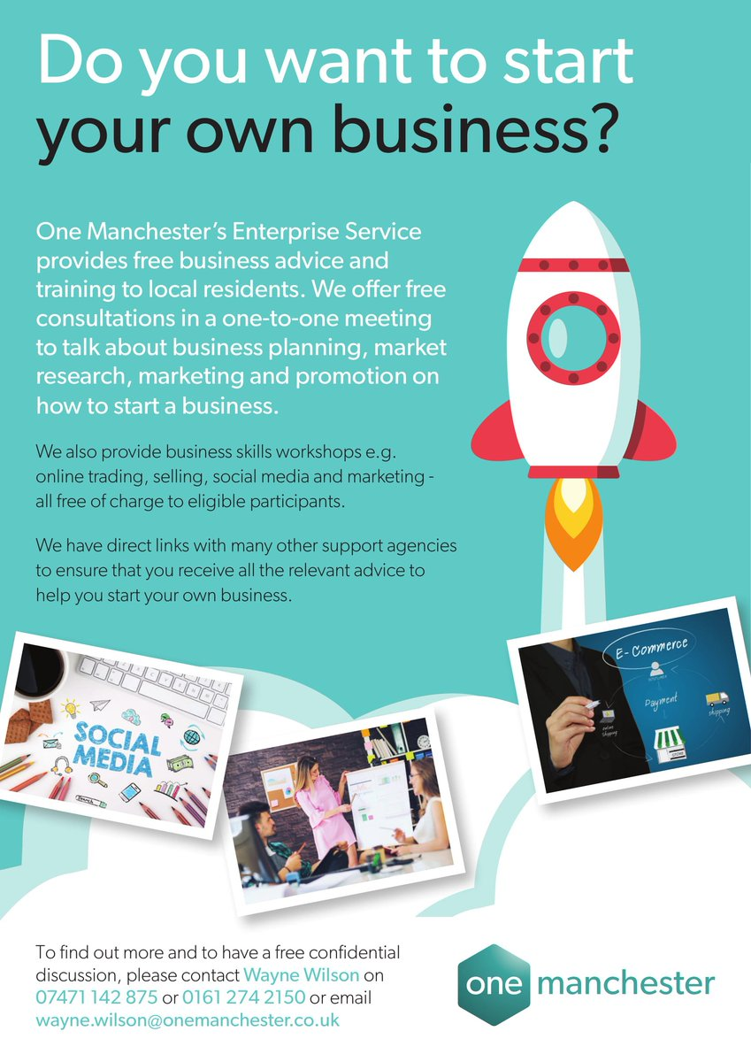 @OneMcr are holding FREE business skills workshops over at Fallowfield Library over November. To learn more and to register click the links below. - eventbrite.com/e/sales-market… - eventbrite.com/e/start-your-o… - eventbrite.co.uk/e/basics-of-bo…