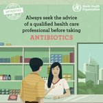 Where antibiotics can be bought without a prescription, the emergence of #AntibioticResistance is made worse. In countries without standard treatment guidelines, #antibiotics are often over-prescribed by health workers & over-used by the public.  #WorldAntibioticAwarenessWeek 💊