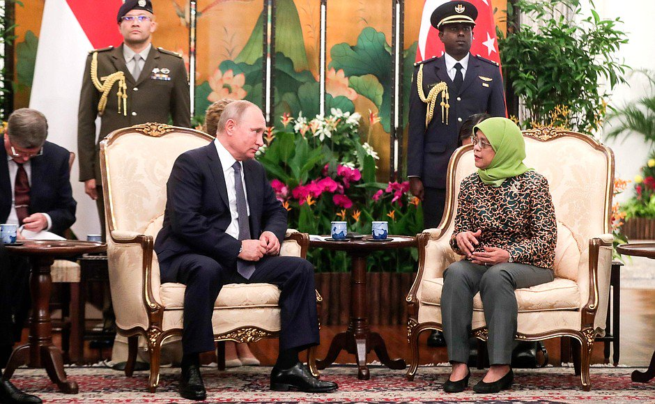 #Singapore: Meeting with President of Singapore Halimah Yacob bit.ly/2DziSC8