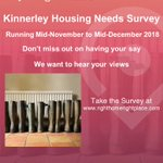 #Kinnerley's Housing Needs Survey is up and running and we want to hear your views about the sorts of housing needed! Complete the survey online at  or request a paper copy of the survey at https://t.co/bwZyZVNowh. #Shropshire #righthomerightplace https://t.co/mwrMbEkahS