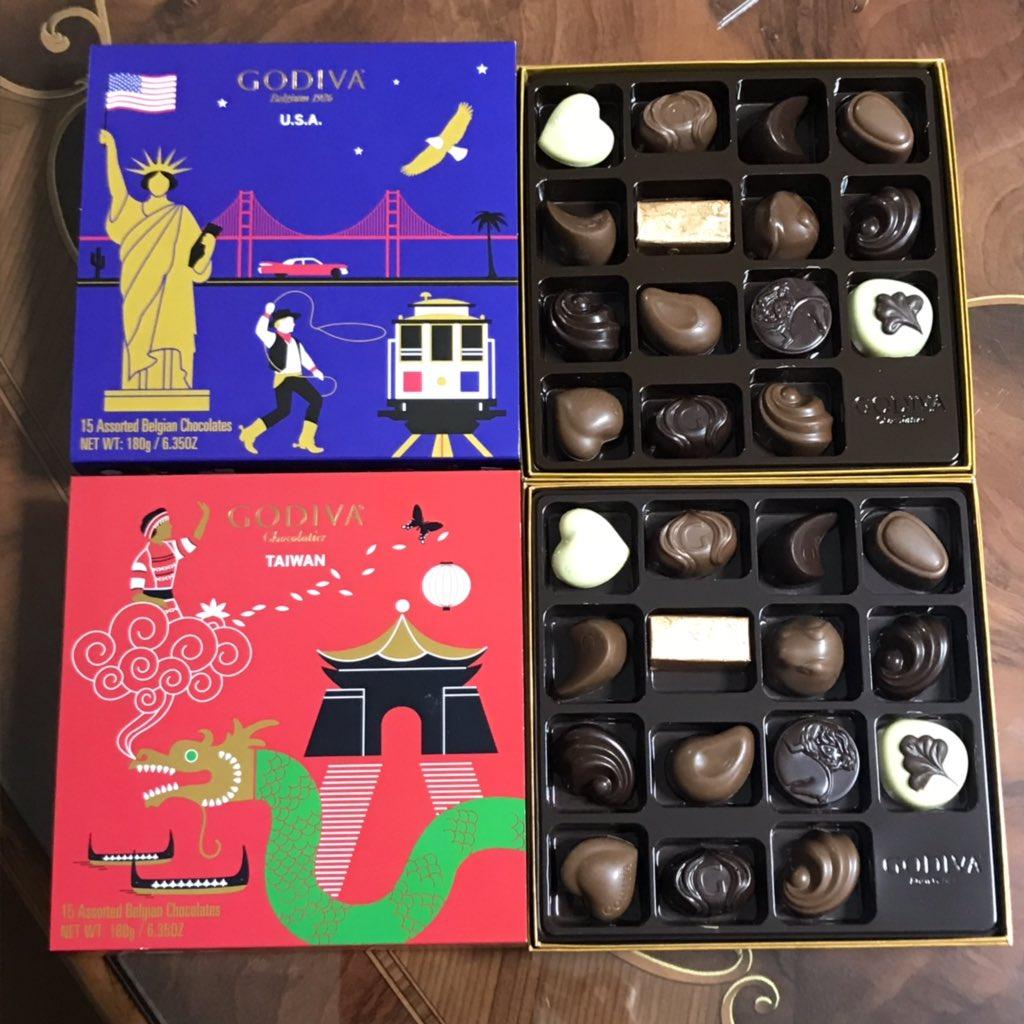 母に台湾土産を渡したらアメリカ土産を貰ったのだが結果的にただのチョコの交換になってしまったし開けてみたら中身全く一緒でめちゃくちゃ面白かった