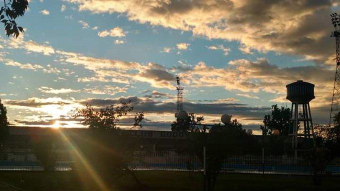 #BuenMartes ☀️ Después de la tormenta, siempre sale el sol. #VamosTomba 💪🏻💪🏻 Foto
