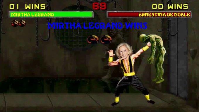 #BuenMartes Stan Lee vs Mirtha El resultado de esta pelea no los sorprenderá 😂 Foto