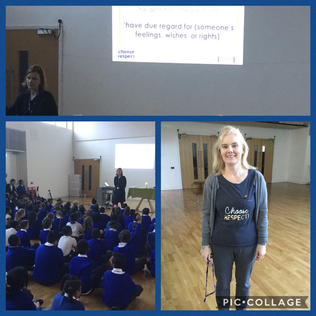 A positive start to our week with an anti bullying  assembly. #ChooseRespect