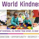 Image for the Tweet beginning: Happy #WorldKindnessDay! Through embedding our