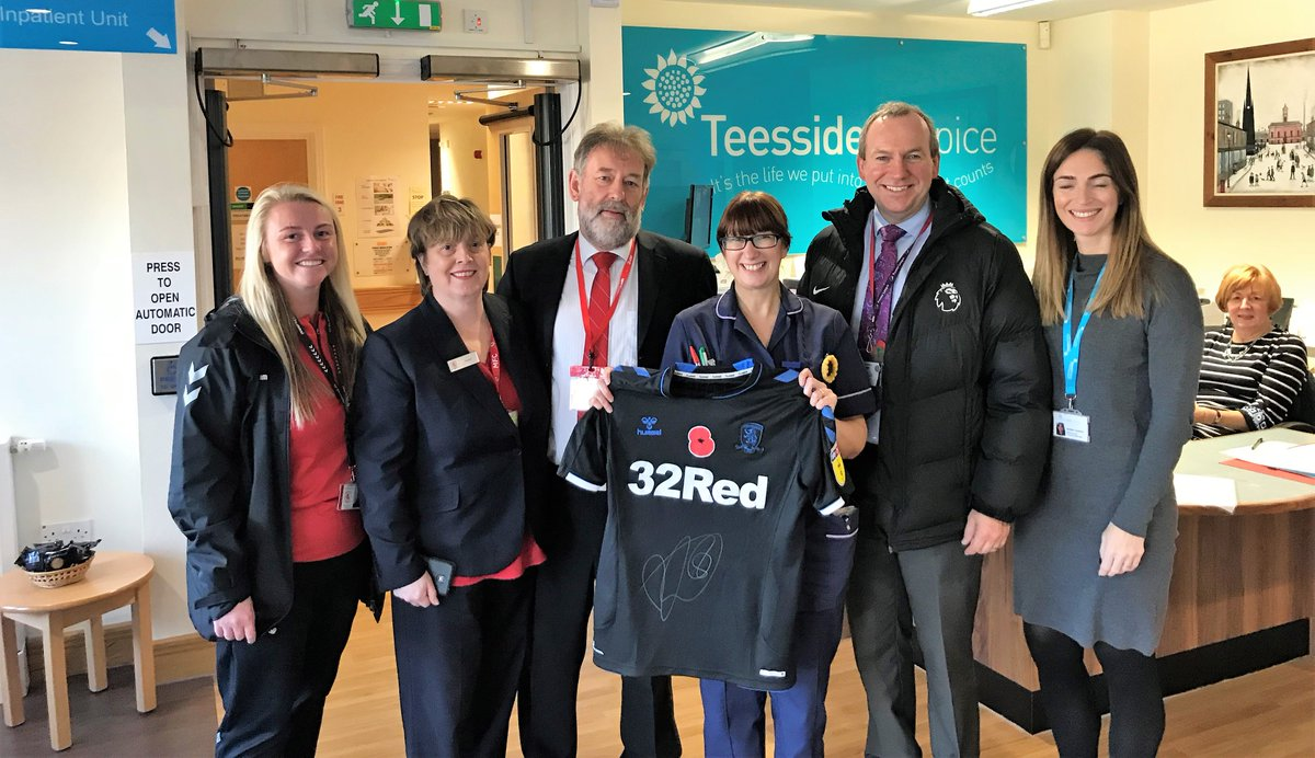 Its #WorldKindnessDay today and were out and about in the community. Our first port of call was @TeessideHospice 🤗#UTB