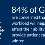 Ahead of a Welsh Assembly statement on winter delivery planning, we've released data showing 84% of GPs are worried about the winter and patient care. We need a stronger workforce to address this.  Support our call: https://t.co/bRsfmgixVl  Read more: https://t.co/i8g3w3TyaZ
