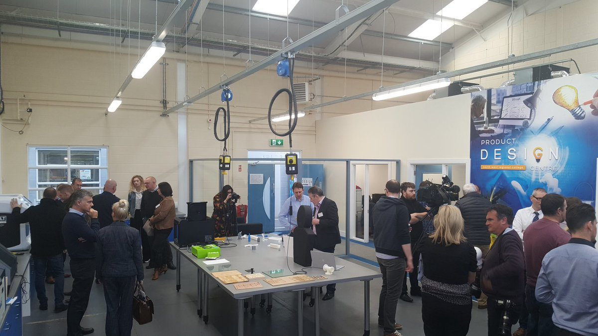 Fantastic opening event so far, continuing with tours to our Centre & around the @mynwrc Greystone Campus #PDC