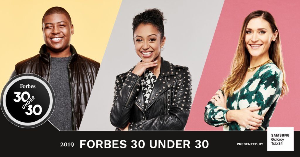 BREAKING: Meet the #ForbesUnder30 Class of 2019 https://t.co/oR0EXxWC89 https://t.co/pwNbRbHIDX