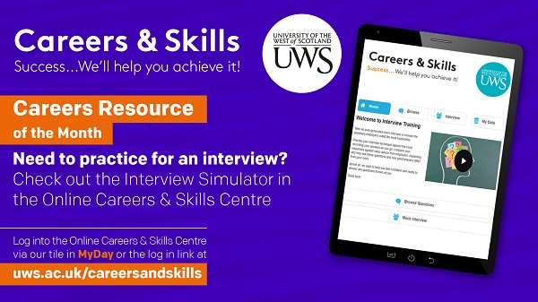 UWS Careers & Skills on Twitter: