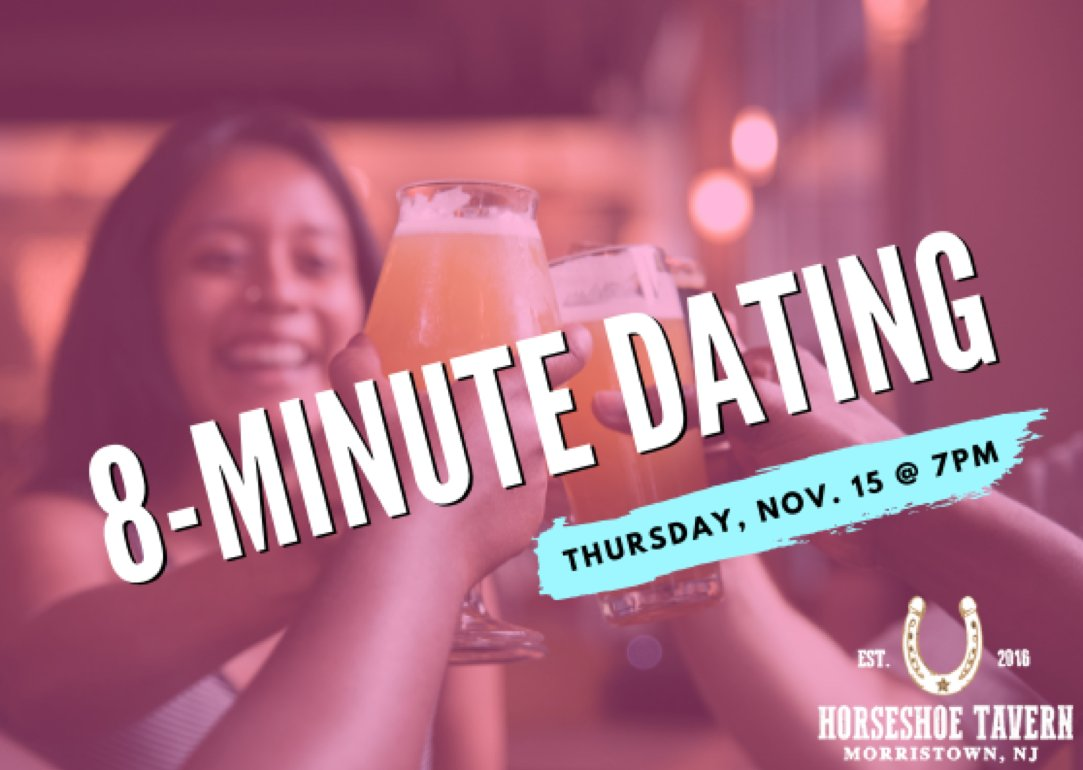 8 minute dating nj