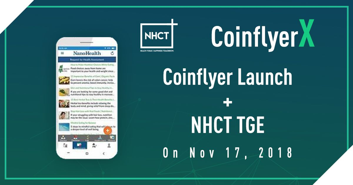 This graphic was made by NHCT&#39;s design team and given to us today. They are excited about Coinflyer&#39;s launch! Learn more about this top ICO at  https://www. nhct.io / &nbsp;   #ico #NHCToken #nhct <br>http://pic.twitter.com/jmBFkhfeSu