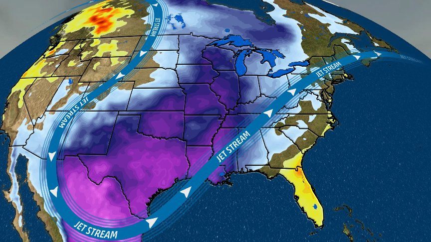 Any break in this #cold pattern? For some, yes, but patience will be needed. https://t.co/DC2aeLue8r