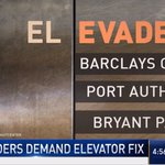 Image for the Tweet beginning: Demand for elevator fix: privately