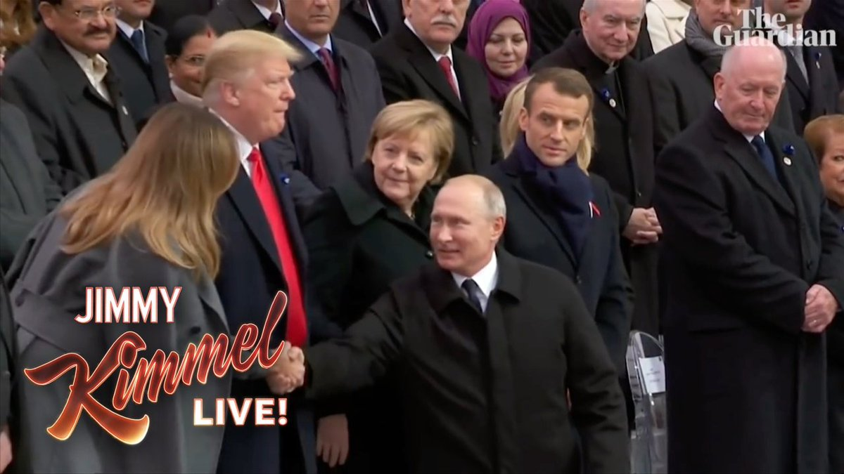 Fewer things make Trump happier than Vladimir Putin…