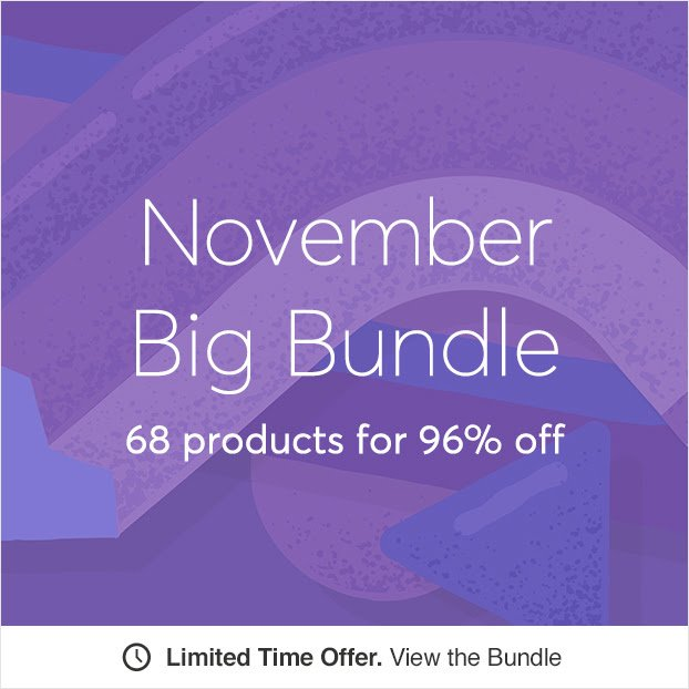 November Big Bundle on Creative Market!