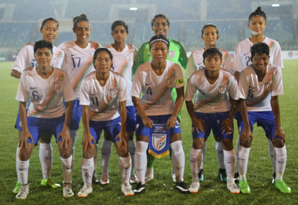 Indian women's football team make it to the next round of Olympic football qualifiers
