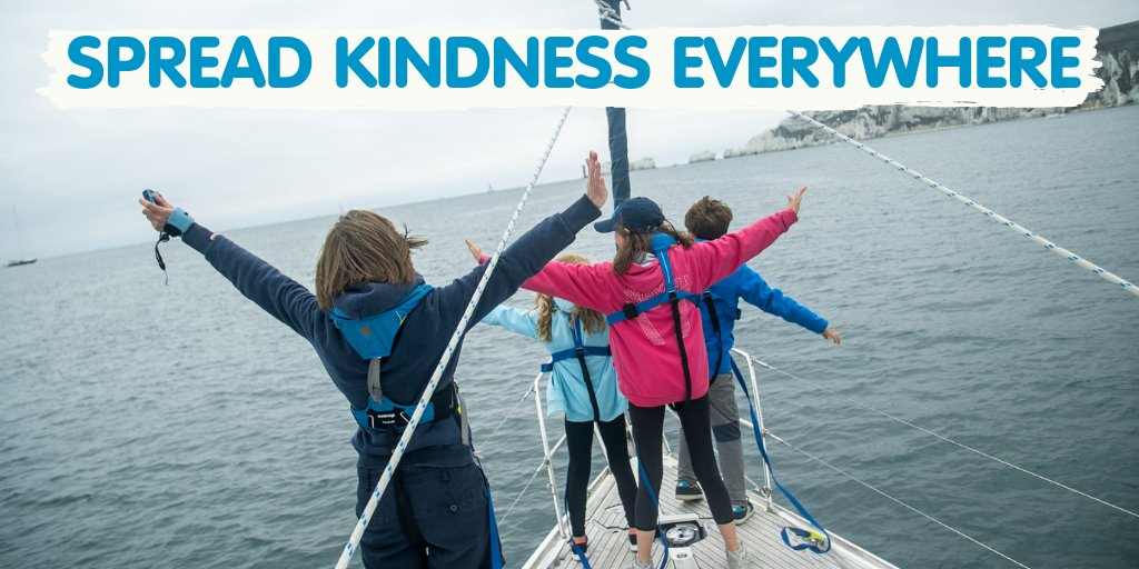 Kindness comes in many different forms - from the support of volunteers, fundraisers & donors to seeing young people sharing their experinces while supporting and encouraging one another. Any type of kindness is an act that makes a BIG difference every time. #WorldKindnessDay