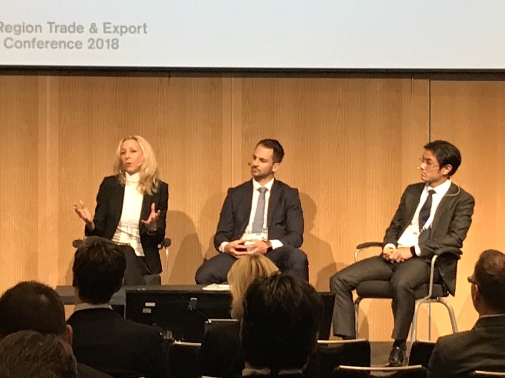 online store 7e706 d6e92 Marie Aglert, Director Large Corporates at EKN on stage talking about how  ECA financing can and must adopt to new business models and evolving value  chains.