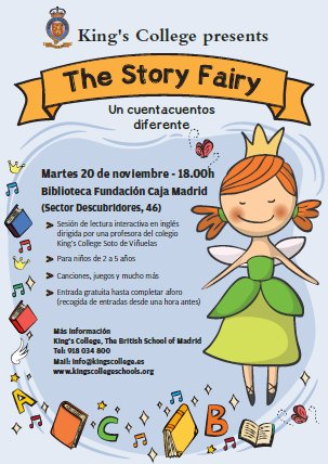 Kings College Soto On Twitter The Next Storyfairy Visit To The