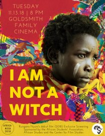 test Twitter Media - As part of #AfricaWeek2018, Wesleyan's African Students' Association presents an exclusive screening of Rungano Nyoni's debut feature film I Am Not a Witch. Screened tonight @ 8pm in Goldsmith Family Cinema! @NotAWitchFilm https://t.co/4QioV0DC3b #IEW https://t.co/KRmzFyFjX5