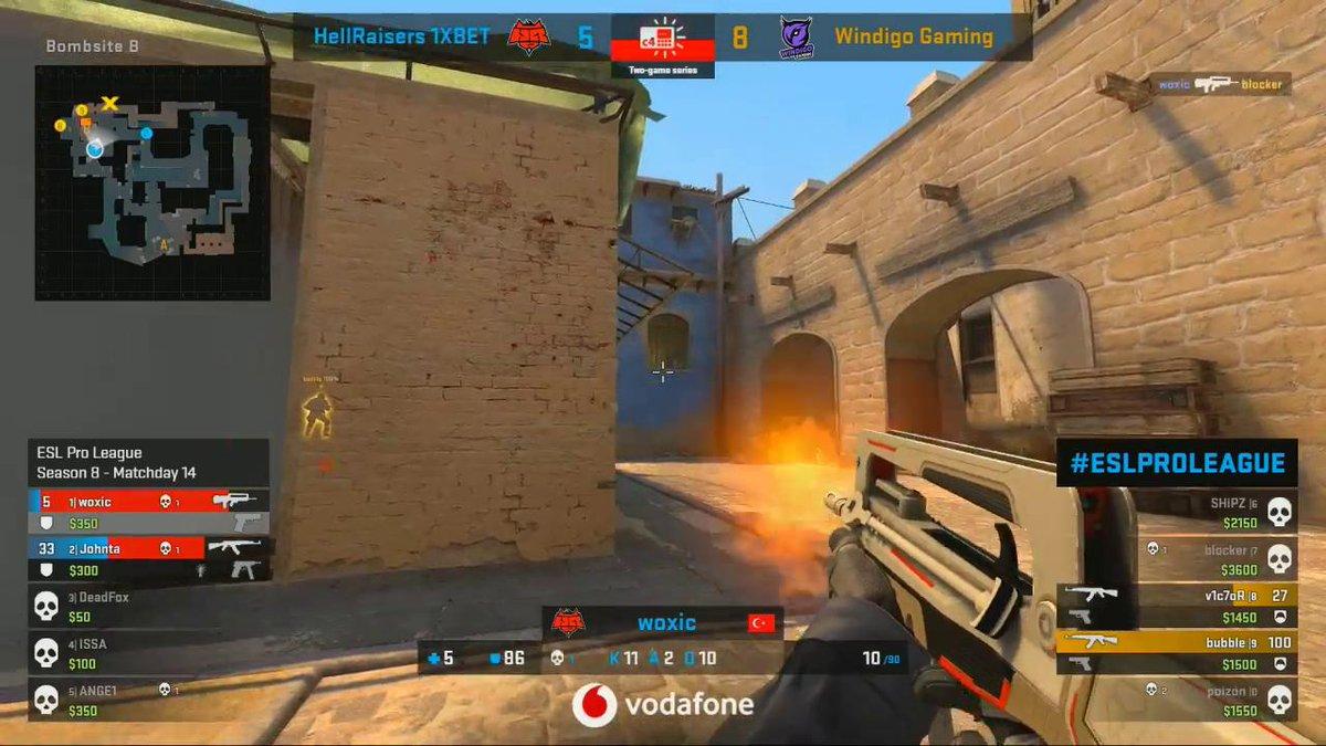 1v2 for @bubbleMCSGO 🙌 live.proleague.com/csgo #ESLProLeague