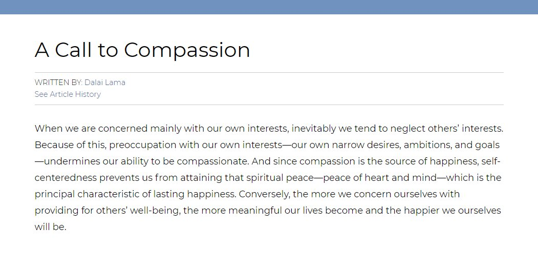 Writing Experts  A Short Essay For Us On The Subject Of Compassion Worldkindnessday  Httpswwwebcomtopicacalltocompassion  Pictwittercomkfyqrxpui Business Plan Writer Contract also Sample Apa Essay Paper Britannica On Twitter A Few Years Ago The Dalailama Wrote A Short  Argument Essay Thesis Statement