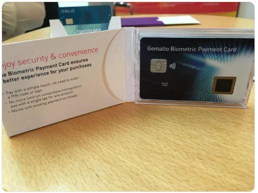 Biometric Payment Card by @Gemalto<br>http://pic.twitter.com/IAJLrLjPCe