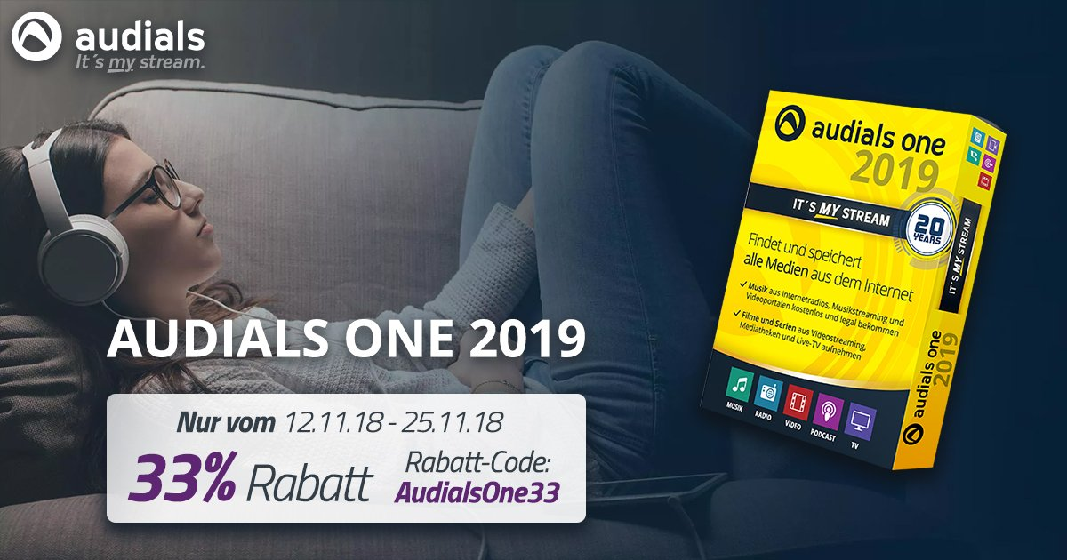 audials one 2019 legal