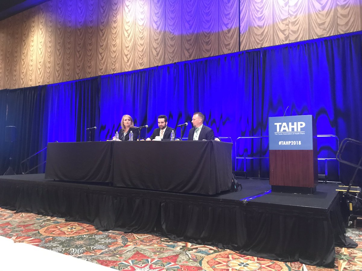 Point of sale rebates panel at #TAHP2018 @Cigna @ExpressScripts and @sbgbenefits