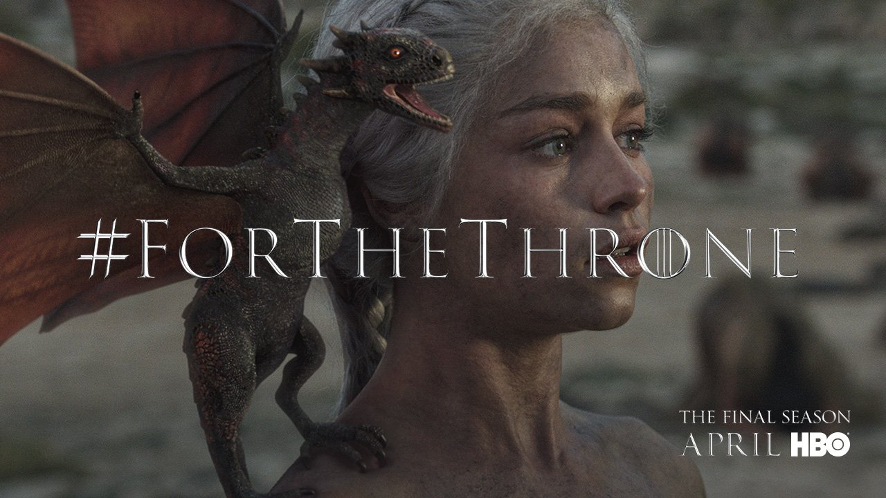 Fire cannot kill a dragon #ForTheThrone. https://t.co/alSusVDUOw