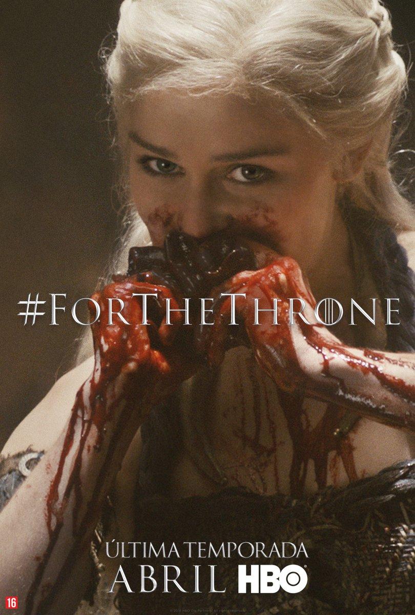 Não uma Rainha, uma Khaleesi #ForTheThrone.