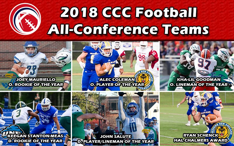 JUST RELEASED: Congratulations to our 2018 #CCCFB All-Conference and major award winners!  http://cccathletics.com/sports/fball/2018-19/releases/2018FBAllCCC…  #d3fb