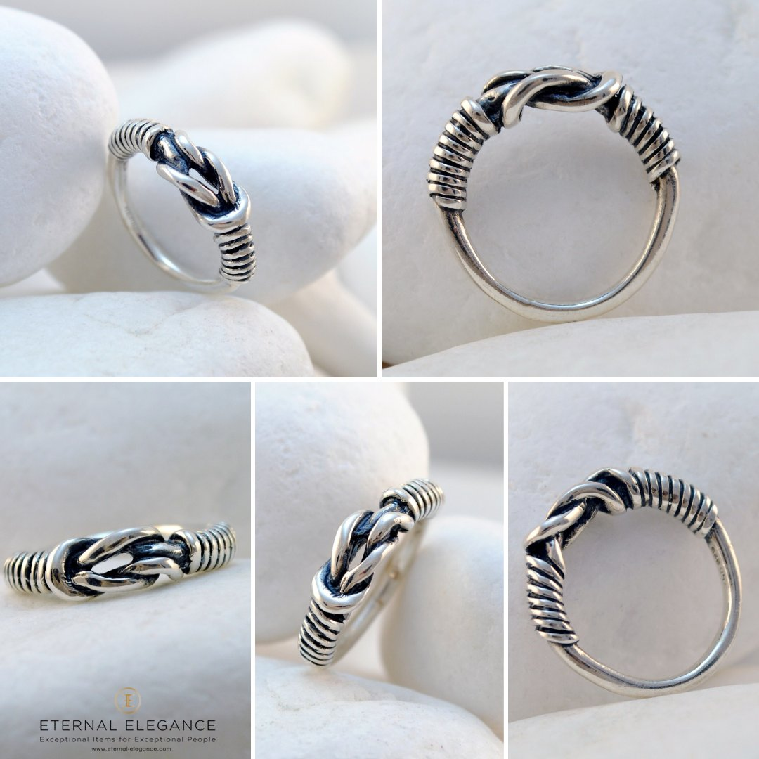 Eternal Elegance On Twitter Hercules Knot Ring With A Design Influenced By The Symbolic Knot Often Found In Ancient Greek Jewelry Handmade In Greece By A Leondarakis Https T Co Jach8wbzgr Ancientgreekring Greekring Herculesknot